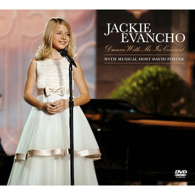 Jackie Evancho DREAM WITH ME IN CONCERT CD