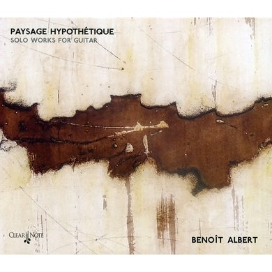 Albert PAYSAGE HYPOTHETIQUE: SOLO WORKS FOR GUITAR CD