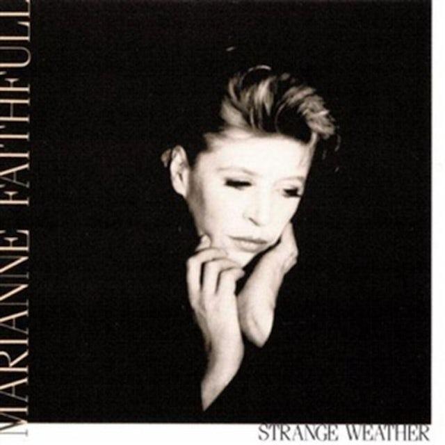 Marianne Faithfull STRANGE WEATHER Vinyl Record