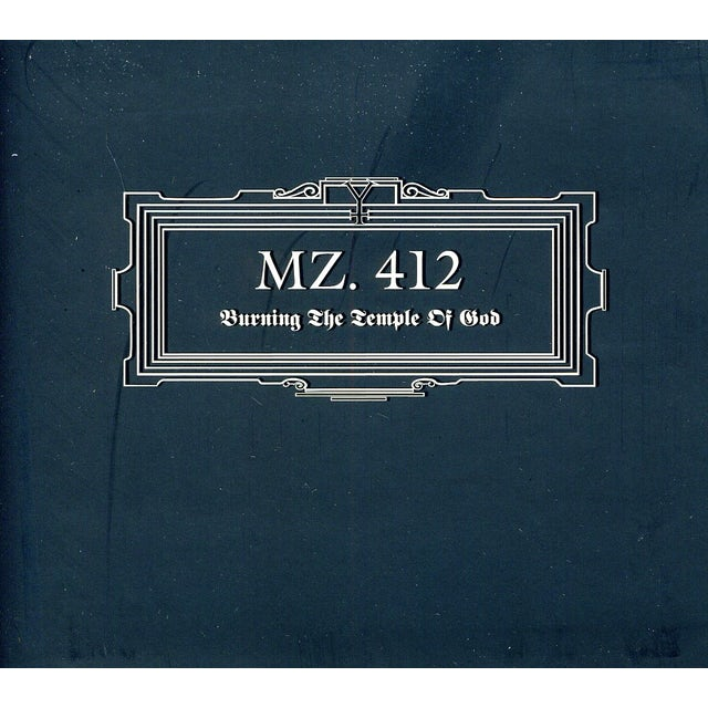 MZ.412 BURNING THE TEMPLE OF GOD CD
