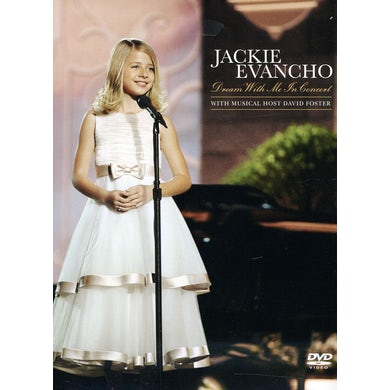 Jackie Evancho DREAM WITH ME IN CONCERT DVD