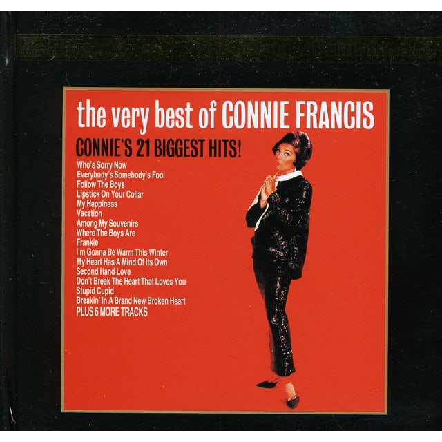 VERY BEST OF CONNIE FRANCIS CD