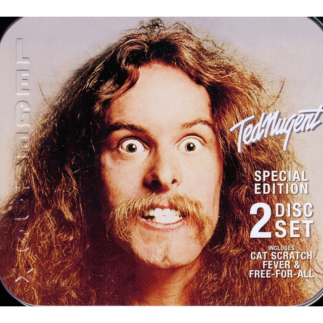 Ted Nugent CAT SCRATCH FEVER / FREE-FOR-ALL CD