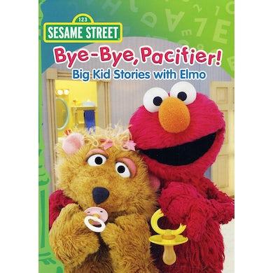 Sesame Street BYE-BYE PACIFIER - BIG KID STORIES DVD