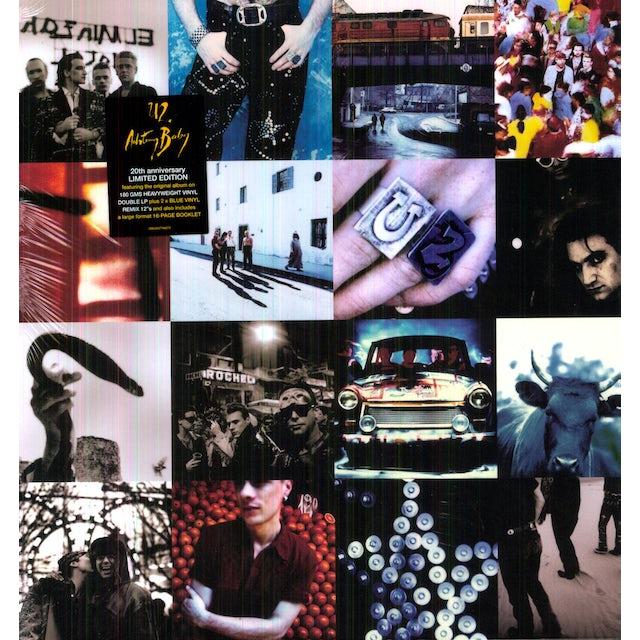 U2 ACHTUNG BABY Vinyl Record - Remastered
