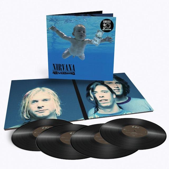 Nirvana Nevermind - Limited Edition Four 180 Gram LP Vinyl Record