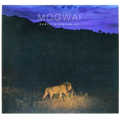Mogwai EARTH DIVISION CD