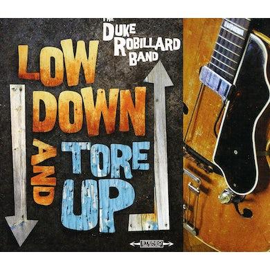 Duke Robillard LOW DOWN & TORE UP CD