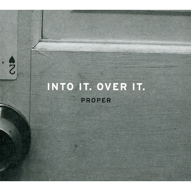 Into It Over It PROPER CD