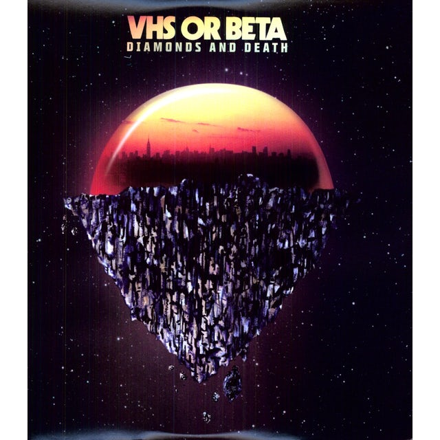 Vhs Or Beta DIAMONDS & DEATH Vinyl Record