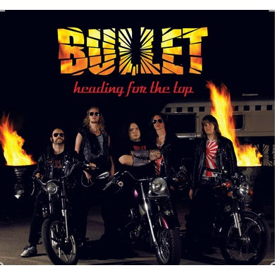 Bullet HEADING FOR THE TOP Vinyl Record