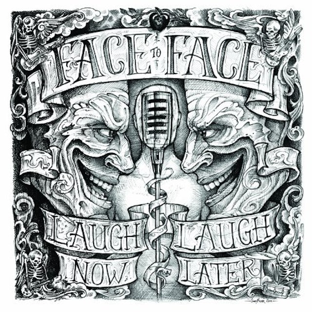 Face To Face LAUGH NOW LAUGH LATER Vinyl Record - 180 Gram Pressing