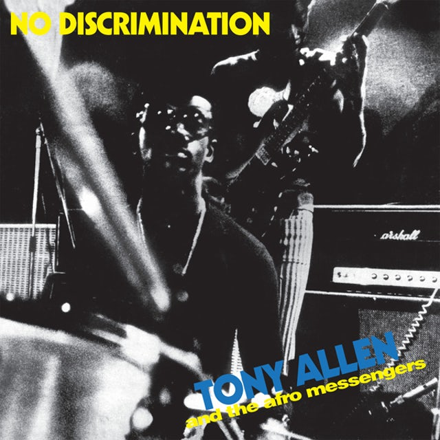 Tony Allen NO DISCRIMINATION Vinyl Record