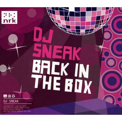 Dj Sneak BACK IN THE BOX: MIXED CD