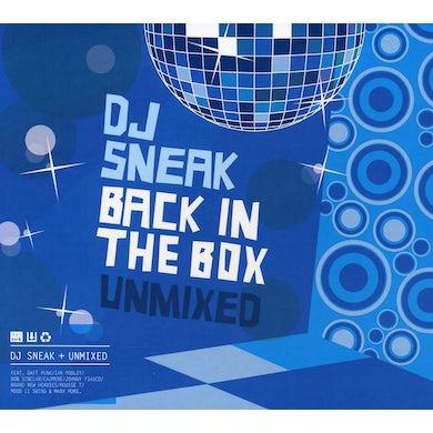 Dj Sneak BACK IN THE BOX: UNMIXED CD