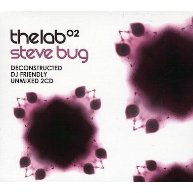 Steve Bug LAB 02: UNMIXED CD