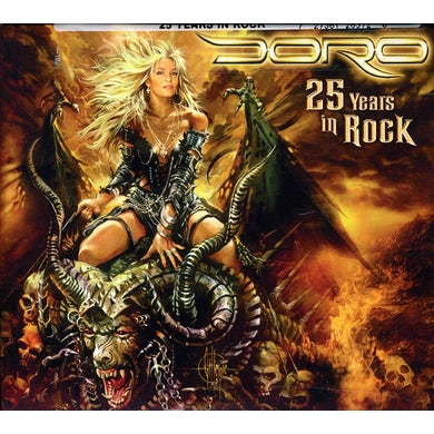 Doro 25 YEARS IN ROCK CD