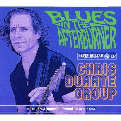 Chris Duarte BLUES IN THE AFTERBURNER CD
