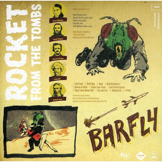 Rocket From The Tombs BARFLY CD