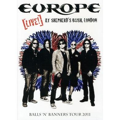 Europe LIVE AT SHEPHERD'S BUSH LONDON DVD
