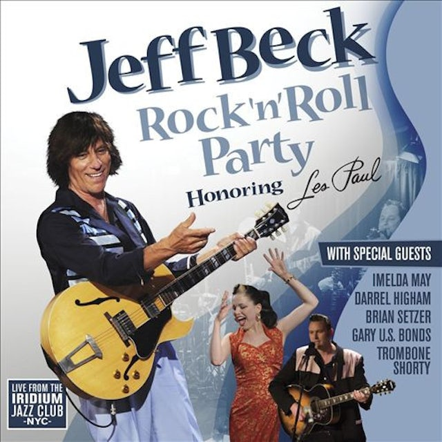 Jeff Beck ROCK N ROLL PARTY: HONORING LES PAUL Vinyl Record