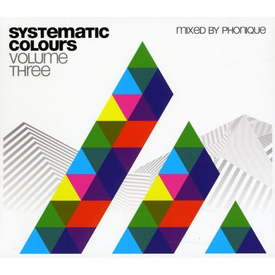 Phonique SYSTEMATIC COLOURS 3 CD