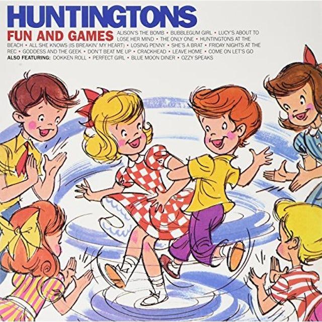 Huntingtons FUN & GAMES Vinyl Record - Limited Edition