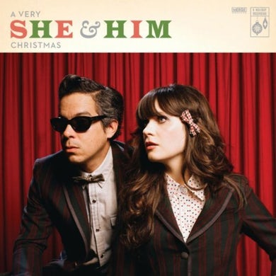 A VERY SHE & HIM CHRISTMAS Vinyl Record
