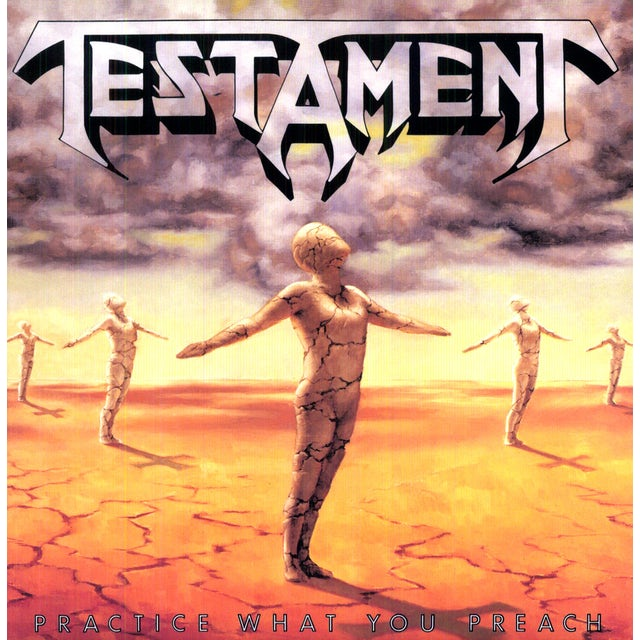 Testament PRACTICE WHAT YOU PREACH Vinyl Record