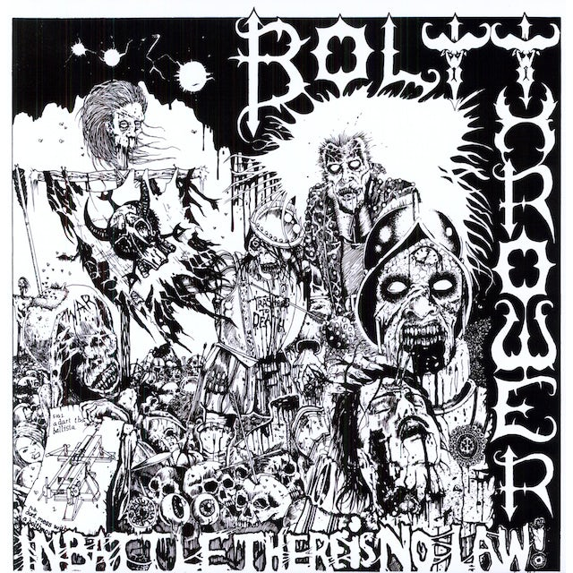 Bolt Thrower IN BATTLE THERE IS NO LAW Vinyl Record