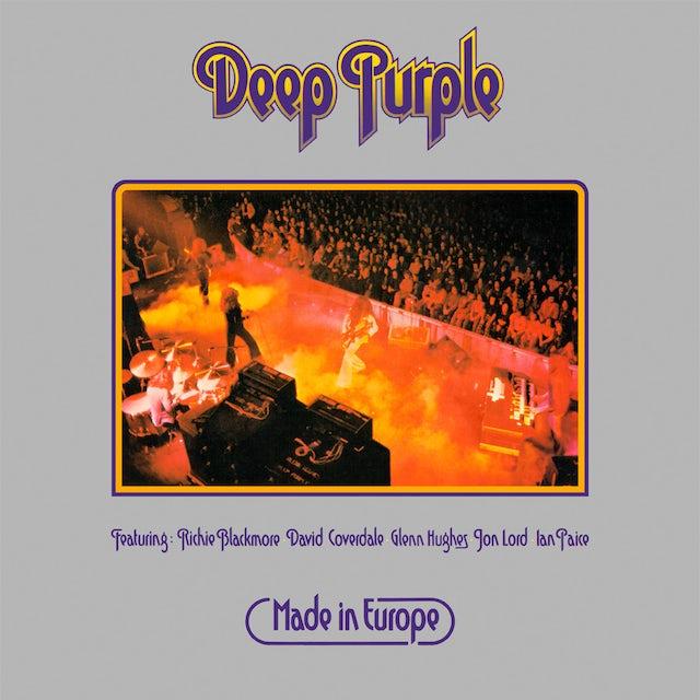 Deep Purple MADE IN EUROPE Vinyl Record