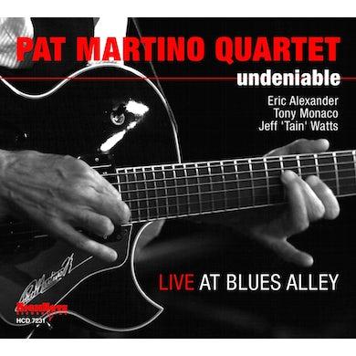 Pat Martino UNDENIABLE CD
