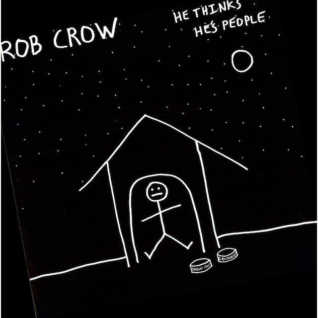 Rob Crow HE THINKS HE'S PEOPLE Vinyl Record