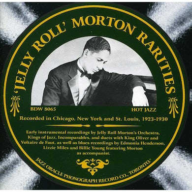 Jelly Roll Morton RARITIES: THE RARE BAND AND BLUES SIDES CD