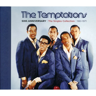 The Temptations 50TH ANNIVERSARY: SINGLES COLLECTION 1961-1971 CD
