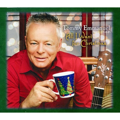 Tommy Emmanuel ALL I WANT FOR CHRISTMAS CD