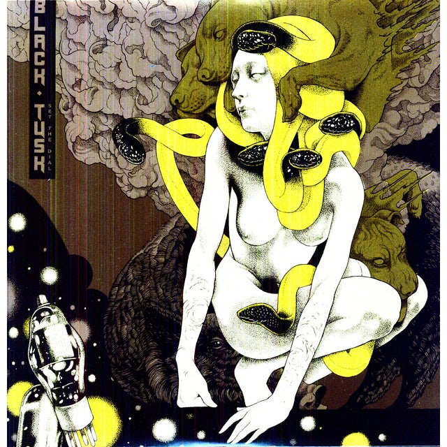 Black Tusk SET THE DIAL Vinyl Record
