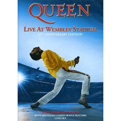 Queen LIVE AT WEMBLEY STADIUM DVD