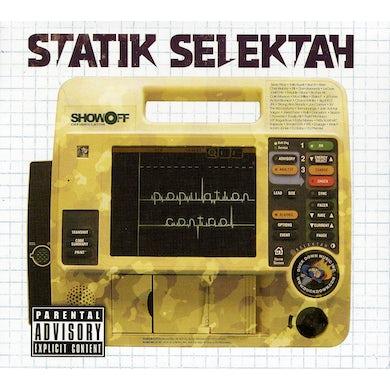 Statik Selektah POPULATION CONTROL CD