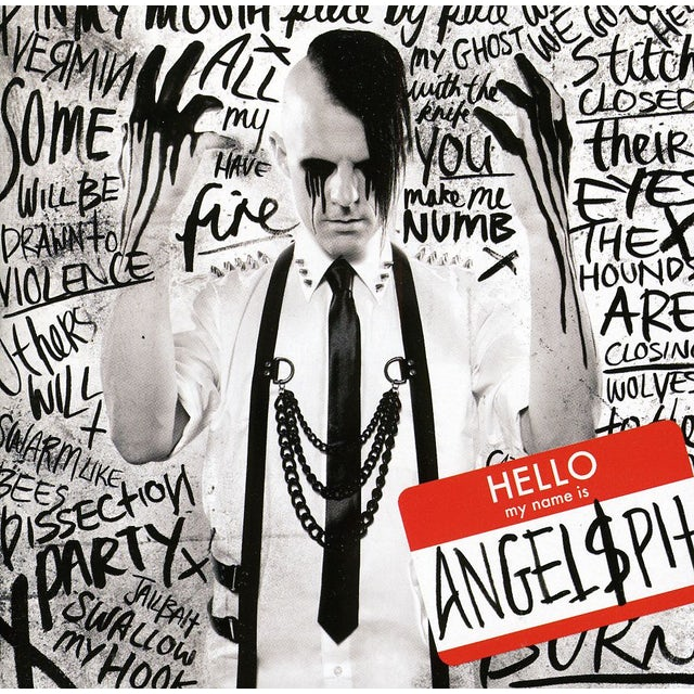Angelspit HELLO MY NAME IS CD