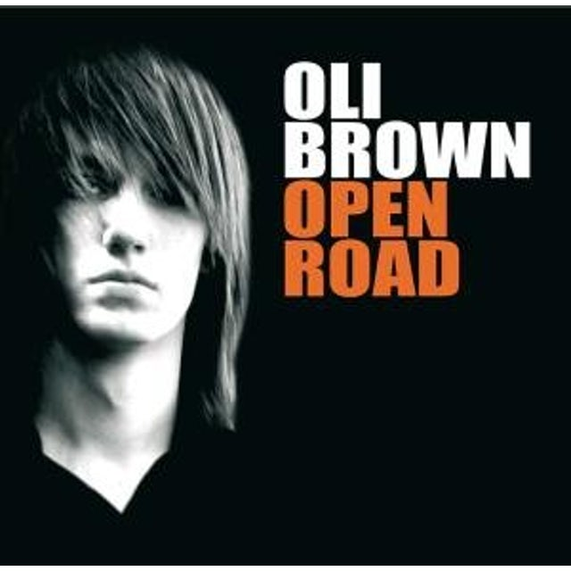 Oli Brown OPEN ROAD CD