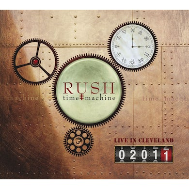 Rush TIME MACHINE 2011: LIVE IN CLEVELAND CD