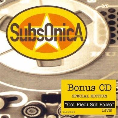 Subsonica CON I PIEDI SUL PALCO LIVE CD