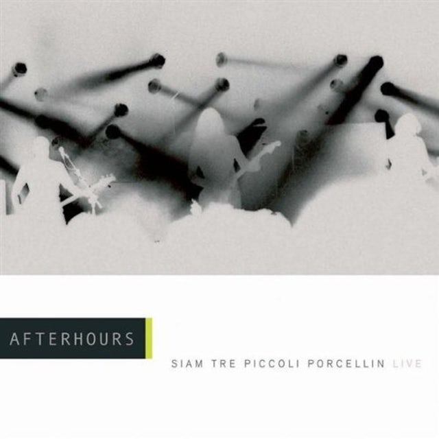 Afterhours SIAM TRE PICCOLI PORCELLINI: LIVE CD