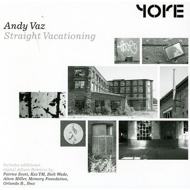 Andy Vaz STRAIGHT VACATIONING CD