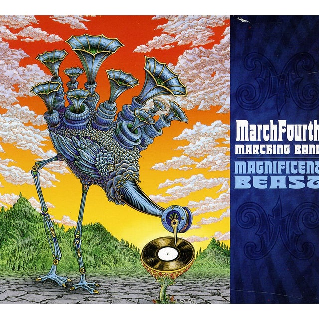 MarchFourth Marching Band MAGNIFICENT BEAST CD