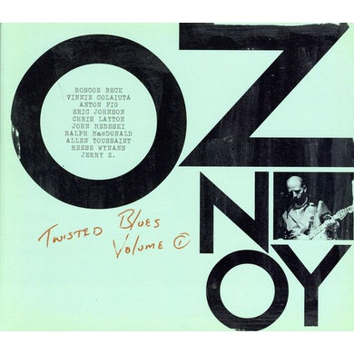 Oz Noy TWISTED BLUES 1 CD
