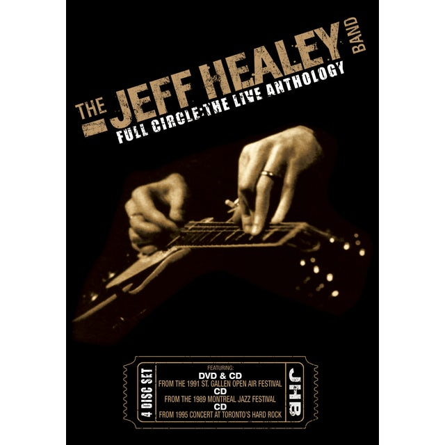 Jeff Healey FULL CIRCLE: THE LIVE ANTHOLOGY CD