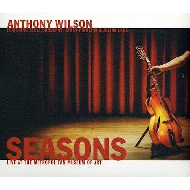 Anthony Wilson SEASONS: LIVE AT THE METROPOLITAN MUSEUM OF ART CD