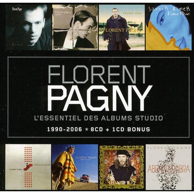 Florent Pagny L'ESSENTIEL DES ALBUMS STUDIO 1990 - 2006 CD